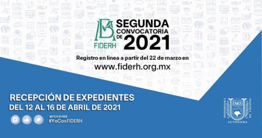 2da Convocatoria FIDERH 2021